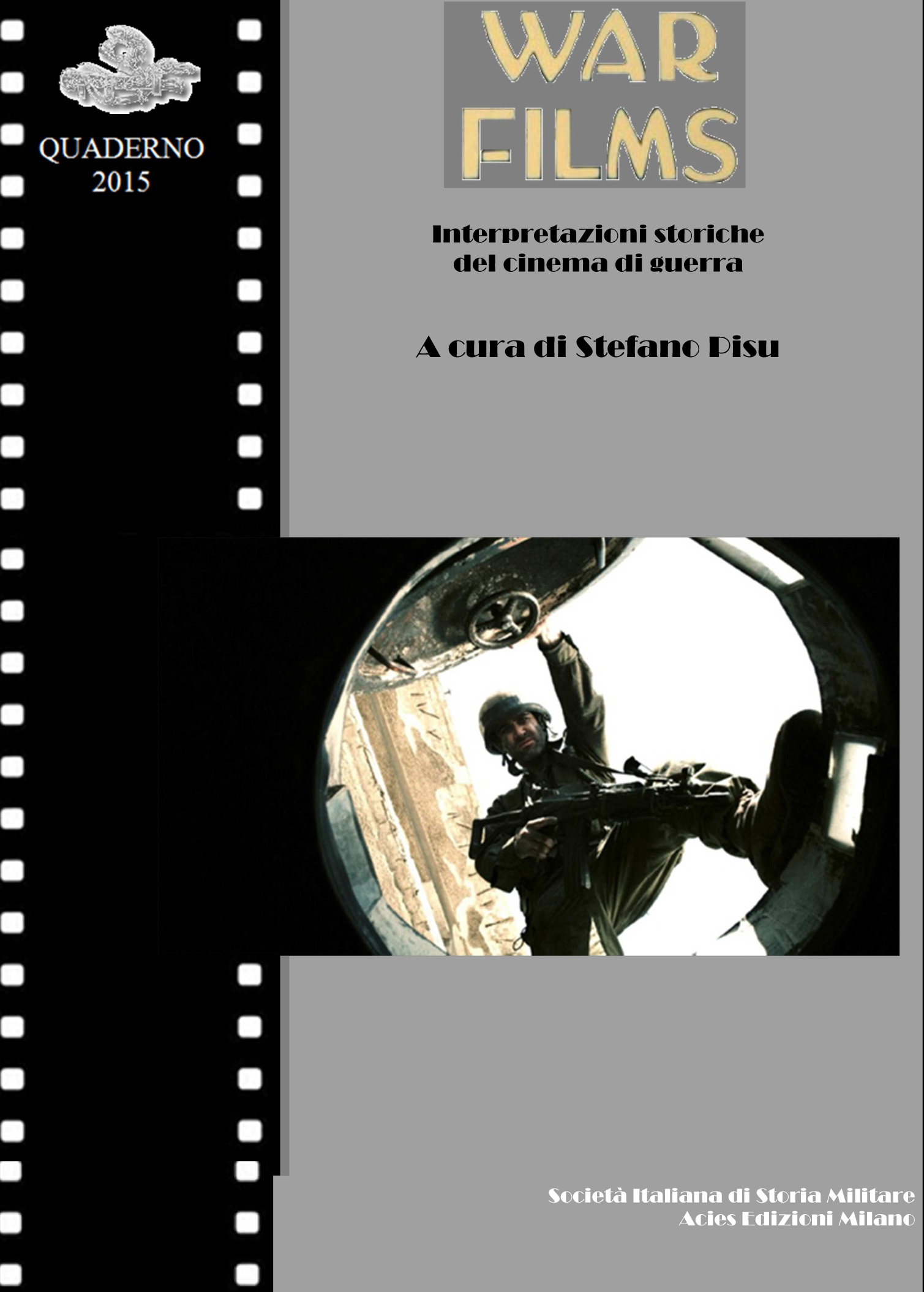 Copertina Quaderno Sism 2015 War Movies. I e IV