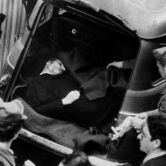 Il ritrovamento del corpo di Moro il 9 maggio 1978