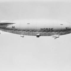 """14 maggio 1926: Umberto Nobile con il dirigibile """"Norge"""" conquista il Polo Nord"""