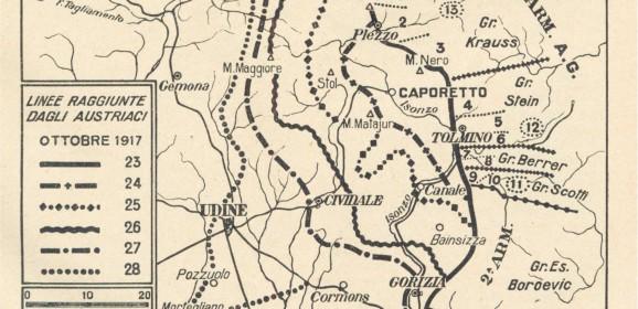 24 ottobre 1917. La sconfitta di Caporetto