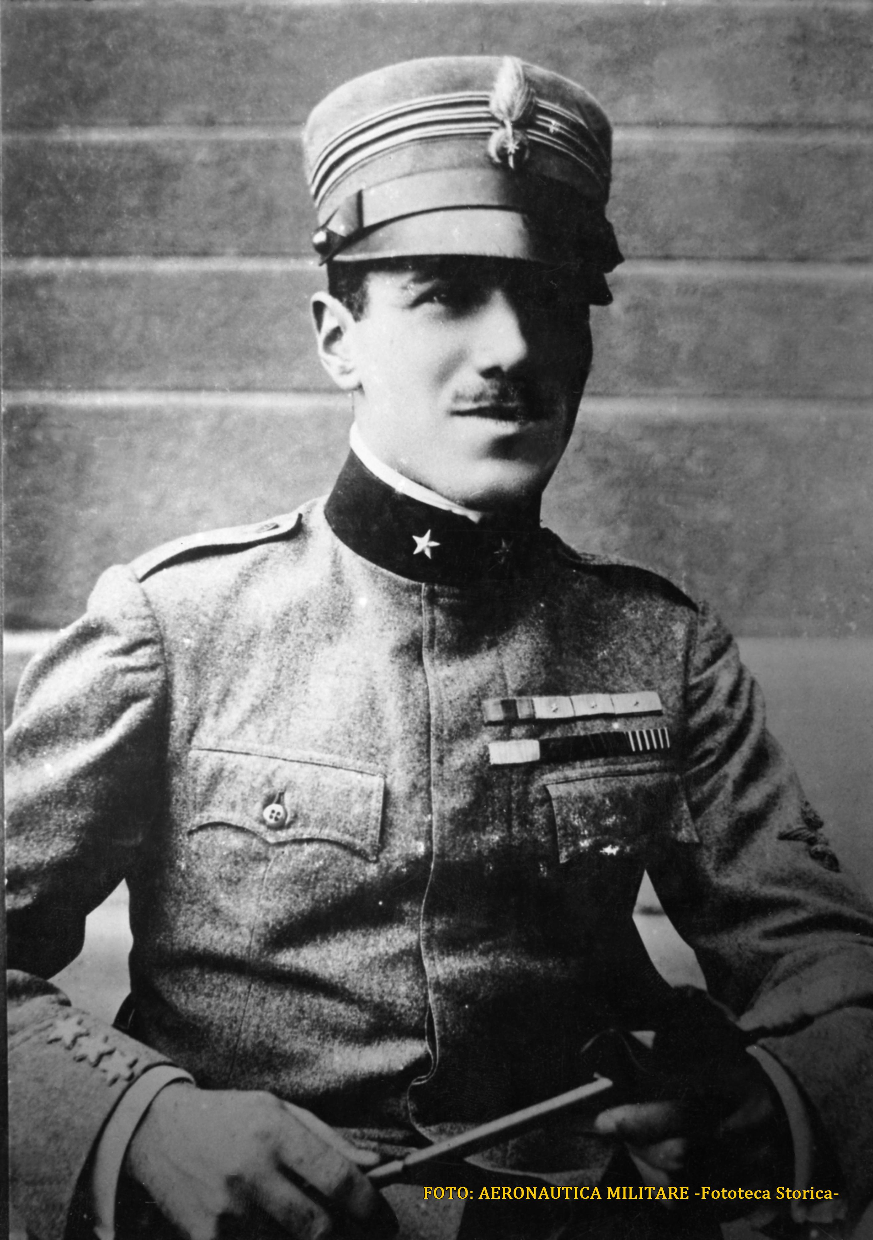 Francesco Baracca in una foto d'archivio dell'Aeronautica militare (1)