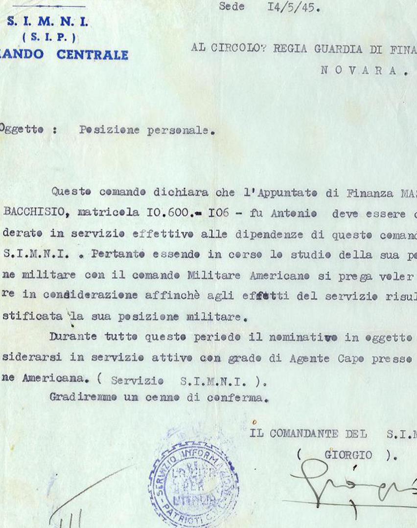 Documento SIMNI